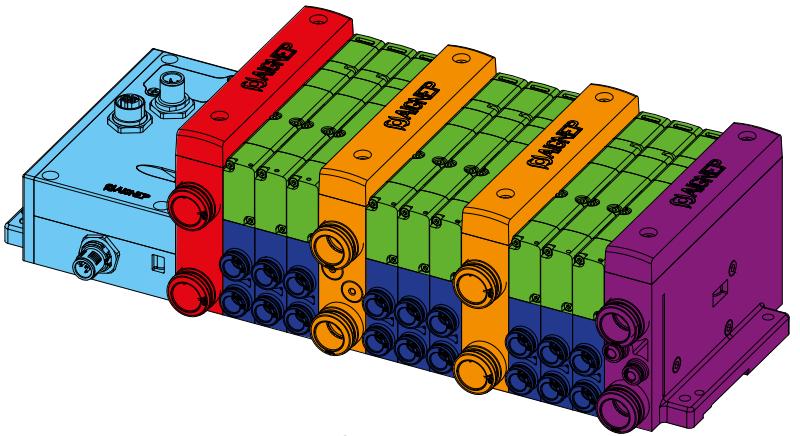 Cassete-ventielen-Aignep-15V