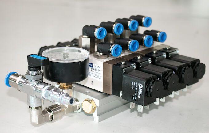 YPC ventiel assemblage
